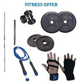 Vrloc 14Kg Home GYM Offer