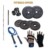 Vrloc 18Kg Home GYM Offer