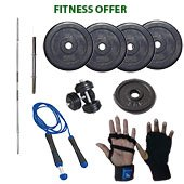 Vrloc 22Kg Home GYM Offer