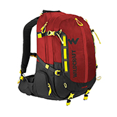 Wildcraft Hypadura Dris 35 Laptop Backpack Red and Black