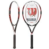Wilson Surge 100 (Red) Tennis Racket