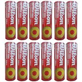 Wilson US Open Tennis Ball 12 Cans Red