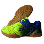 Yonex Legend King 68 Badminton Shoes Lime Green Blue and Purple