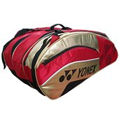 YONEX SUNR 8529 TG BT9 Badminton Kit Bag Red and Golden
