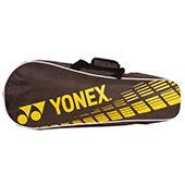 YONEX SUNR 1004 PRM Badminton Kit Bag Brown and Yellow