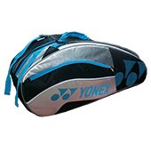 YONEX SUNR 8526 TG BT6 Badminton Kit Bag Black and Silver