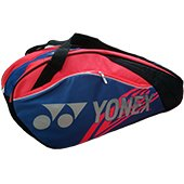 YONEX SUNR 13LCW TG BT6 Badminton Kit Bag Red and Blue