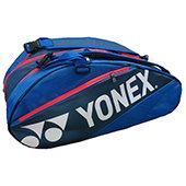 YONEX SUNR 7629TG BT9 Badminton Kit Bag Blue and Dark grey