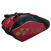 YONEX SUNR 9629TG BT9 Badminton Kit Bag Red and Black