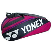 YONEX SUNR 7626TG BT6 Badminton Kit Bag Pink and Grey