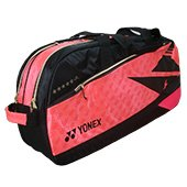 YONEX SUNR 11WLDTG BT6 Badminton Kit Bag Bright Red