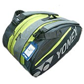 YONEX SUNR 7629TG BT9 Badminton Kit Bag Lime and Gray
