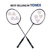 Set of 2 Yonex GR 303 Badminton Racket Set