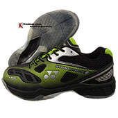 Yonex Hydro Force 2 Badminton Shoes Black Lime Green