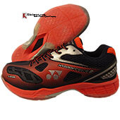 Yonex Hydro Force 2 Badminton Shoes Bright Red Dark Navy