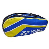 Yonex PY/O4 BT6 Badminton Kit Bag Blue and Yellow