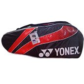 Yonex PL01BT6 Badminton Kit Bag Red and Black