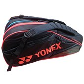 YONEX FR1412R Badminton Kit Bag Pink and Black