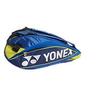 YONEX SUNR 9526 TG BT6 Badminton Kit Bag Blue and Yellow