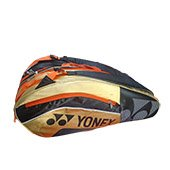 YONEX SUNR 8526 TG BT6 Badminton Kit Bag Black and Golden