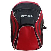 YONEX KNH02 Bag Pak Badminton Kit Bag Black and Red