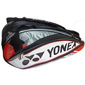 YONEX SUNR 9526 Badminton Kit Bag Red and Gray