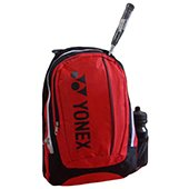 YONEX SUNR 7312 G Bag Pak Badminton Kit Bag Black and Red