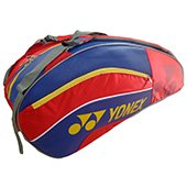 YONEX SUNR 8526 TG BT6 Badminton Kit Bag Red and Blue