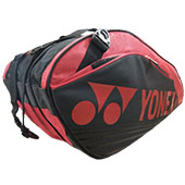 YONEX SUNR 9629 TG BT9 SR Badminton Kit Bag Black and Red