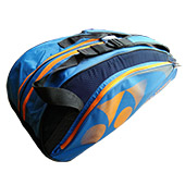 YONEX Sunr WP14TG BT6 S Badminton Kit Bag Blue and Bright Orange