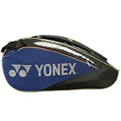 YONEX SUNR WE01TG BT6 SR Badminton Kit Bag Black and Blue