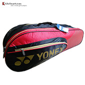 YONEX SUNR 4726 TG BT6 SR Badminton Kit Bag Black and Red
