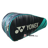 YONEX SUNR LRB05MS BT6 S Badminton Kit Bag Navy and Turquoise