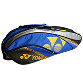 YONEX SUNR BA01TG BT6S Badminton Kit Bag Grey and Dark Blue