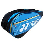 YONEX Sunr WP 12TK BT6 S Badminton Kit Bag Sky blue and Black
