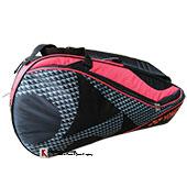 YONEX SUNR 8726 TG BT6 SR Badminton Kit Bag Black and Red