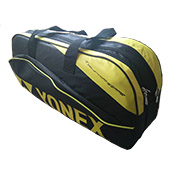 YONEX SUNR 2018 Badminton Kit Bag Black and Yellow