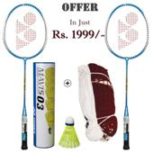 YONEX Badminton Racket Offer GR 303 Mavis 03 Badminton Net