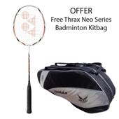Offer on Yonex Badminton Racket ArcSaber 6and Thrax Neo Series Badminton Kit Bag