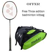 Offer on Yonex Badminton Racket Nanospeed 9900 and Thrax Edition Badminton Kit Bag