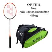 Offer on Yonex Nanoray Z Speed Badminton Racket and Thrax Edition Badminton Kit Bag