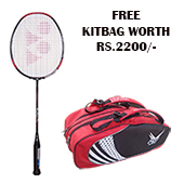 Offer Yonex Badminton Racket muscle power 29 Light and Thrax Kitbag