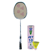 Offer On Yonex NanoRay Light 4i Badminton Racket and Mavis 07