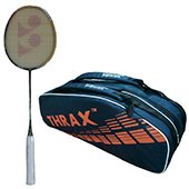 Offer On Yonex Voltric LD 200 Badminton Racket and Thrax Revo Kitbag