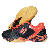 Yonex Super ACE 08 Badminton Shoes Black and Orange