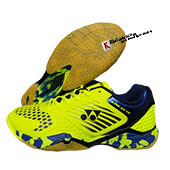 Yonex Super ACE 08 Badminton Shoes Neon Lime And Navy