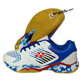 Yonex Super ACE 08 Badminton Shoes White Royal Blue And Red
