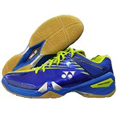 Yonex Power Cushion 01 Limited Badminton Shoes Lime and Blue