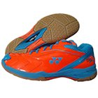 Yonex Tru Cushion SRCI 65R Badminton Shoes Orange and Blue