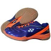 Yonex Tru Cushion SRCI 65R Badminton Shoes Purple and Orange
